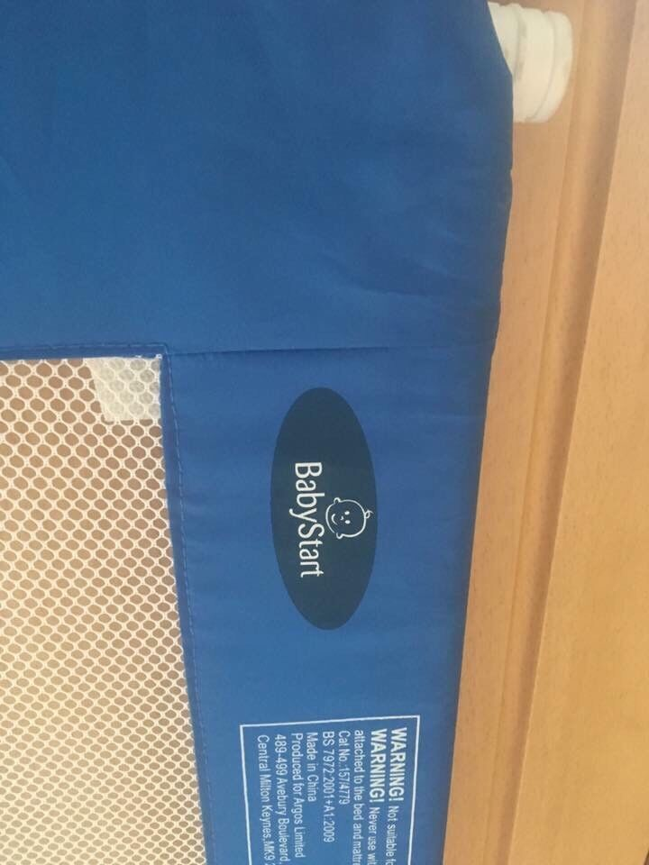 Baby start bed side guard
