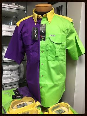 Mardi Gras Fishing Shirt - Men's