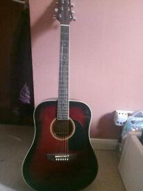 Ashton D25 WRS LEFT HANDED Guitar