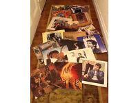 Bob Dylan vinyl albums.