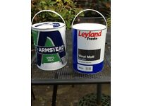 2 x5 Litre Tins of Emulsion