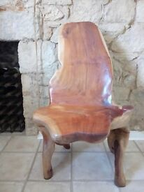 Amazing Teak Root Chair