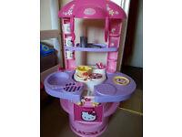 Kids play kitchen (Hello Kitty)