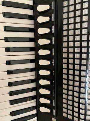 Excelsior Model 1304B Piano Accordion 37/96, 4/5 voice Scottish musette tuned.