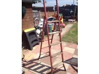 metal ladder good condition only £10.00