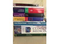 Medical Student Books Kumar & Clark, Wheater's, Oxford Handbooks - 10 BOOKS