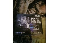 PC Motherboard, Case and AIO Cooler Bundle