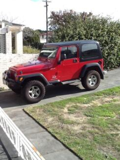 2005 Jeep Wrangler Coupe Dianella Stirling Area Preview