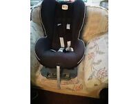 Britax car seat sold as seen