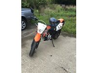 AJS JSM 50cc *VERY FAST FOR A 50CC GEARED 50CC* NOT A RS YZF OR DT