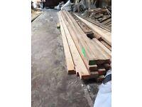 3x2 6Metre timber rails