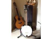 Banjo Barnes & Mullins 6 string As New