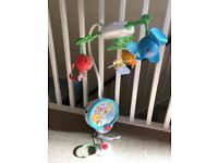 Fisher Price Discover N Go Twinkling Lights Projector Cot Mobile