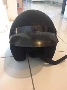 Small motorcycle or scooter helmet