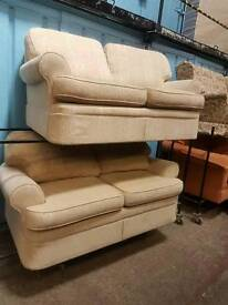 Mark's and Spencer twin 2 seater sofa suite with pull out sofa bed