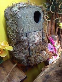 Custom made reptile hides