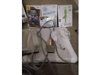 Nintendo Wii, Fitness Board and Games