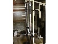 Body solid smith machine and bench
