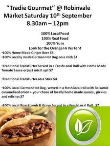 Tradie Gourmet @ Robinvale Market this Saturday Morning Red Cliffs Mildura City Preview