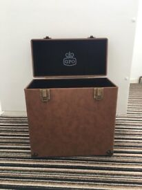 GPO Record holder brown RRP £35 brand new MUST COLLECT BY FRIDAY MORNING