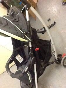 Elite car seat(2020), old Fisher trains, ramp, Jogging stroller