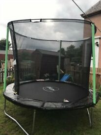 8ft trampoline with net