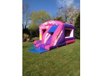 Airquee Castles 1.Box Jump & Slide for sale 2. Disco Dome 3. 12ft x 12ft Bouncy castle