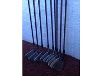 Taylor made irons Rac Tour preferred forged irons