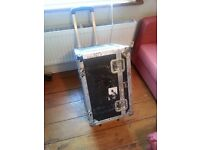 Flightcase with Wheels and Handle