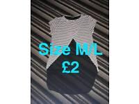 Size m/l top