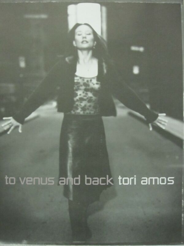 Tori Amos 1999 To Venus And Back promotional poster Flawless NEW old stock