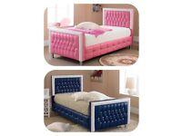 Pink single Princess Bed Frame