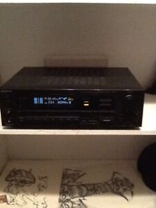 Sony amp nexxteck mixer and fisher speakers