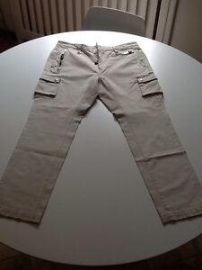 dsquared2-taglia-52-uomo-nuovi-Pantaloni-Made-In-Italy-Occasione