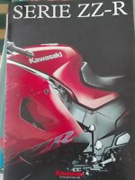 Kawasaki Zzr 1100-600-250 2002 Catalogo Brochure Depliant -  - ebay.it