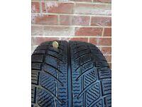 Tire 225 45r17 Winter Goodride no repair good condition 1 pcs