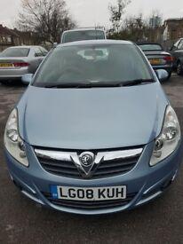 £2450 Vauxhall Corsa 3door 2008 for sale