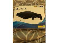 PS4 Slim 500GB Plus 3 games including COD WW2