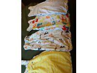 Gro bag baby sleeping bags x4