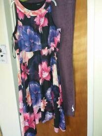 Size 20 dress by Roman @ Debenhams. Worn once only
