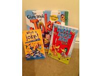 A collection of different joke books for children, 3 books in total. Perfect condition.
