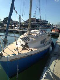 21 Foot Fantasie Sailing Cruiser