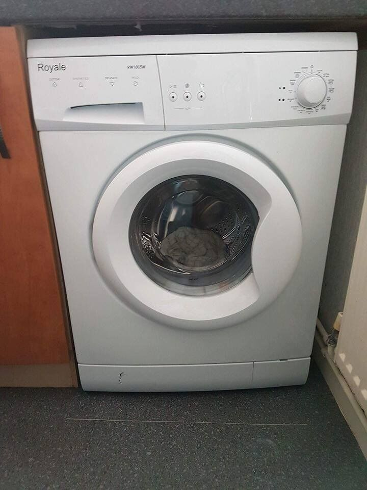 Washing used about five times, perfect condition