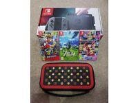 Nintendo Switch 32GB Grey Console Zelda Mario Odyssey Switch Mario Kit