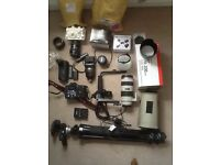 Canon camera equipment for sale.
