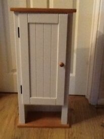 White/Pine IKEA Cupboard