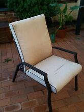 Outdoor chairs reclining Lisarow Gosford Area Preview