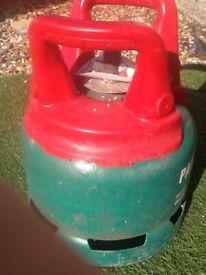 Full 5kg calor Gas patio bottle