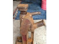 Vintage toe jack made in England by Rotaryhoe.
