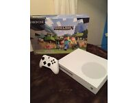 Xbox one S white 500GB brand new used once